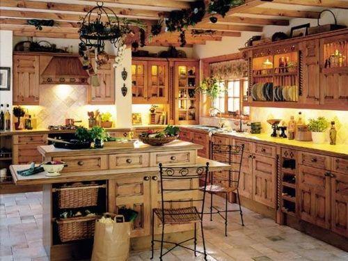 Rustic Pine Kitchen Cabinets1 Pine Kitchen Cabinets