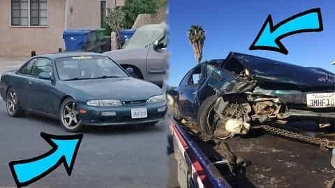 Project Cars Crash Night