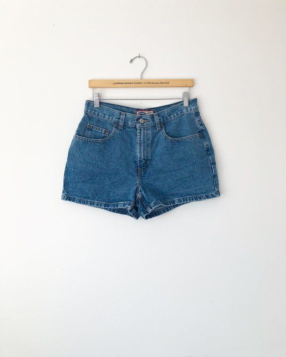 c8be874ebc Vintage 90s Denim Shorts: High Waisted, Old Navy, Mom Jeans, High Rise