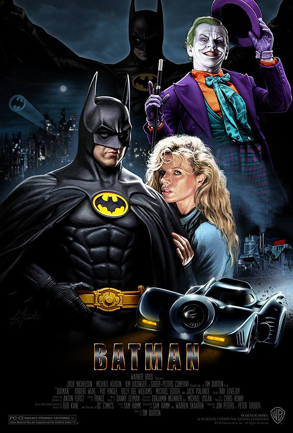 Batman 1989 universo dc batman pinterest hd - Super batman movie ...