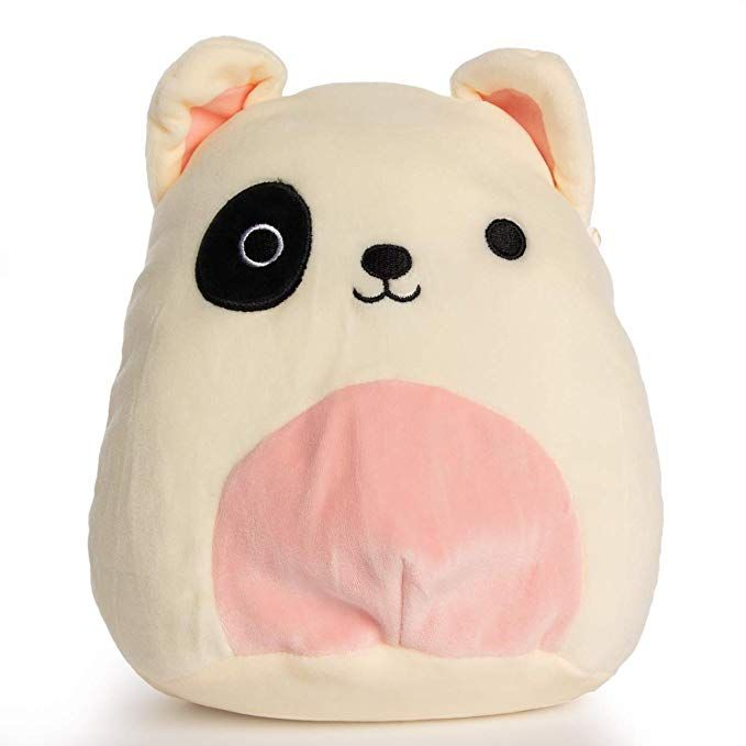 Amazon Com Squishmallow 8 Plush Animal Pillow Pet Karina The Pink Grey Tabby Cat Gateway Animal Pillows Plush Animals Kids Plush Toys