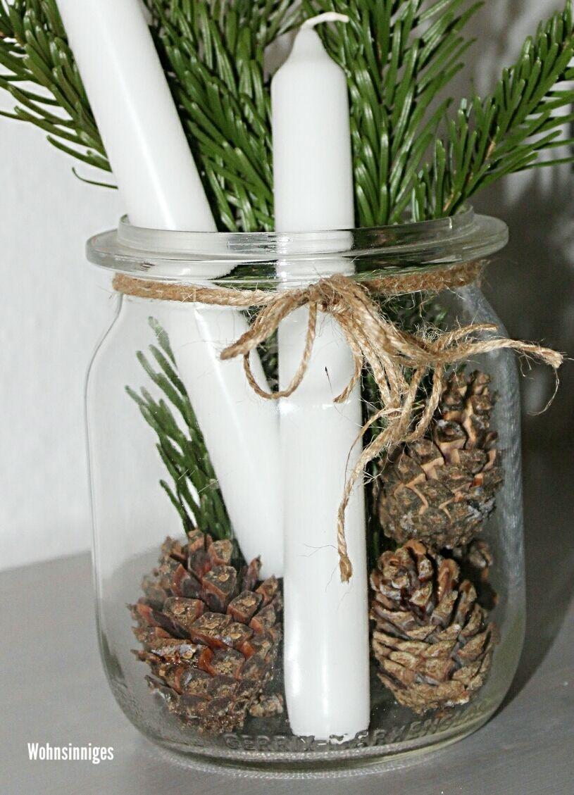 Mitbringsel & Weihnachtsgruß im Glas