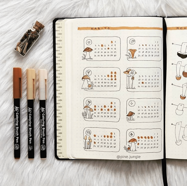 24 September Bullet Journal Layouts & Themes You'll LOVE