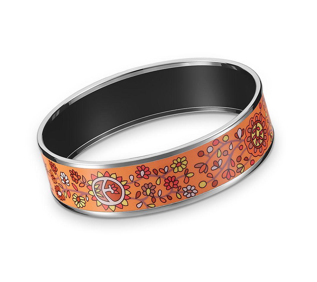 7fa68f15d20 Joyas De Esmalte Hermès Orange - Esmalte Imprimado - Joyas   Relojes ...