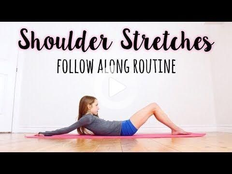 shoulder stretching routine for improving flexibility in
