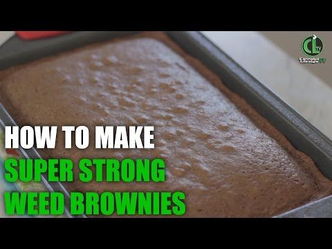 how to make super strong weed brownies aka chronies cannabis
