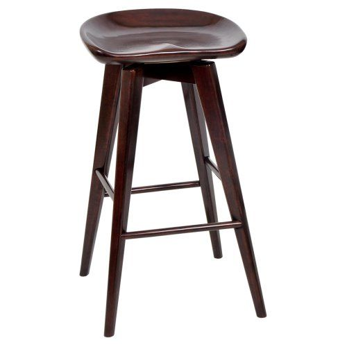 Boraam Bali 24 in. Backless Swivel Counter Stool - Bar Stools at Hayneedle