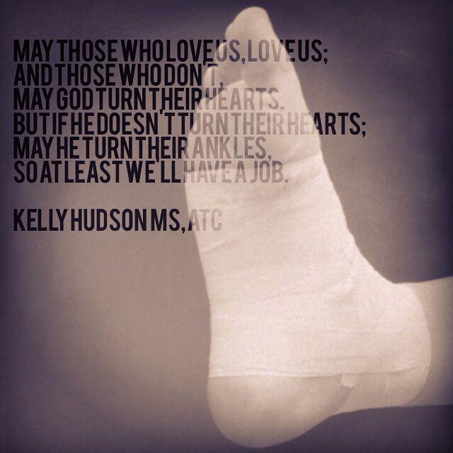 Turn their ankles