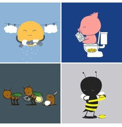 "#Arte "" Desenhos com...#Humor... #Singelos #Ingênuo ""☆"