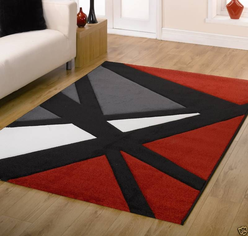 Black Red And Grey Rugs Google Search Like How Clean It Is