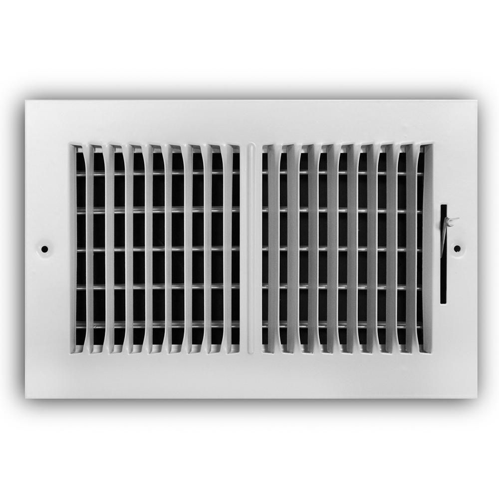 Everbilt 10 in. x 6 in. 2Way Wall/Ceiling Register in