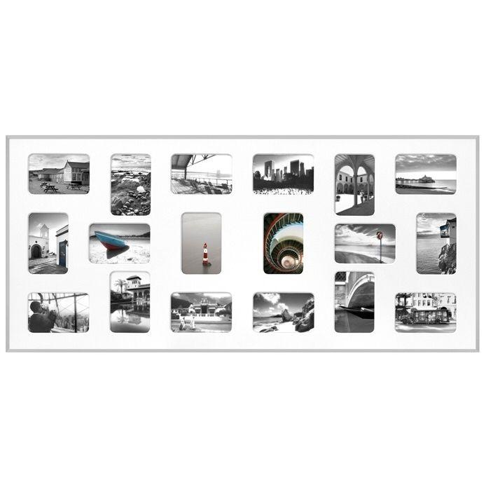 Fotolijst 10 Fotos.Collage Fotolijst Pixel Wit Voor 18 Foto S 10 X 15 Cm Home Decor