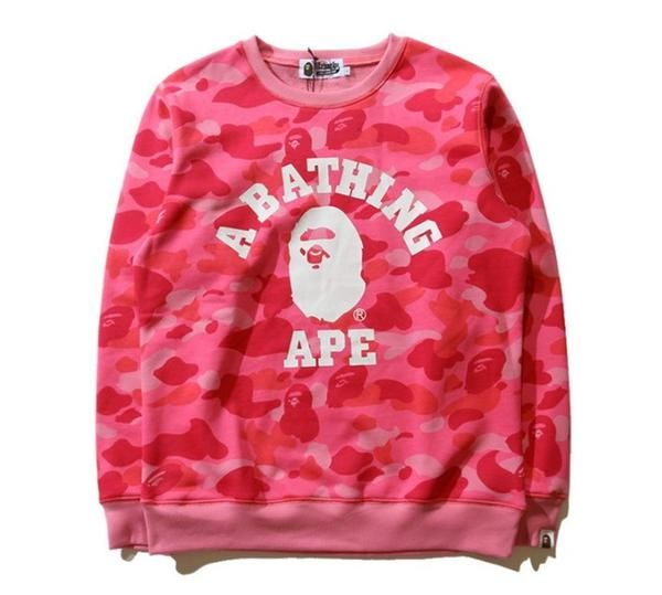 797bcb4d BAPE A Bathing Ape Pink Camo Sweatshirt Sweathsirts come with all BAPE tags  and bags. Very comfortable o-neck fit. Material: Premium Cotton