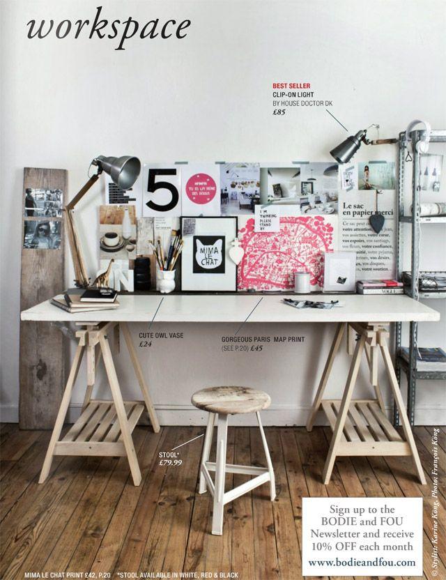 a separate paper cutting/non-computer creative studio area please