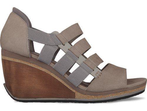 Romain Kremer Presents His Pastel Grey Wedge Heel Sandal
