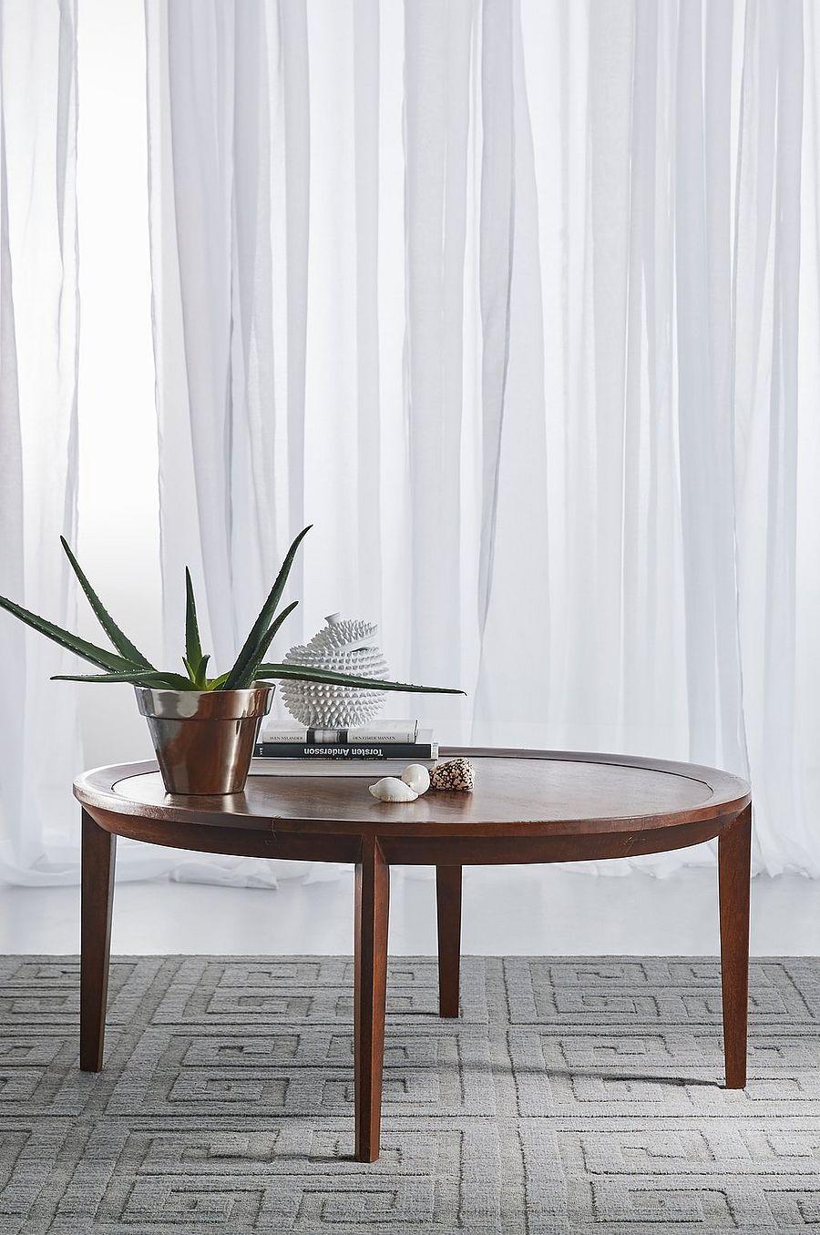 MYRVIKEN bord o 100 cm Va rda ghsru m Bord trä, Soffbord runt trä och Soffbord