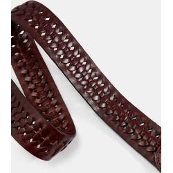 Photo of Braided leather belt Ted BakerTed Baker