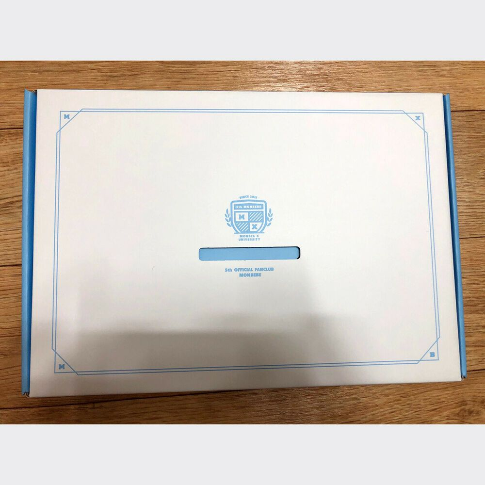 Kpop Idol Monsta X 5th Official Fan Club Monbebe Kit No Membership Card Ebay Membership Card Monsta X Kpop Idol