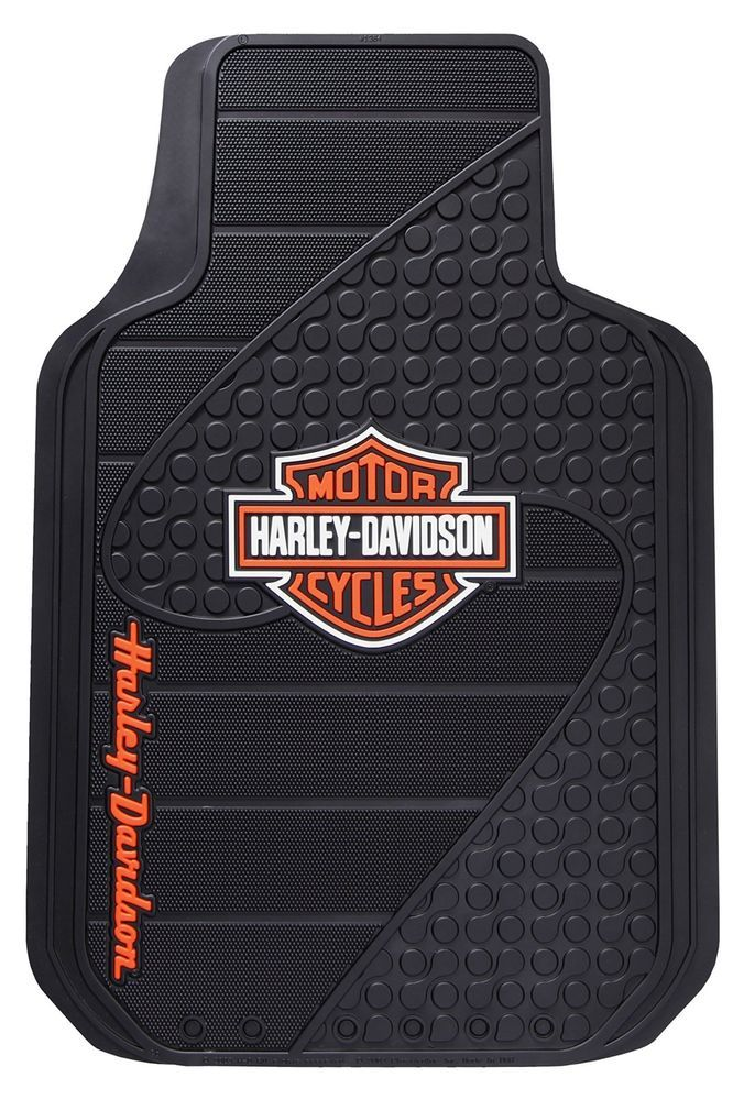Harley davidson 2 front floor mats truck car carpet floorboard harley davidson 2 front floor mats truck car carpet floorboard driver passenger tyukafo