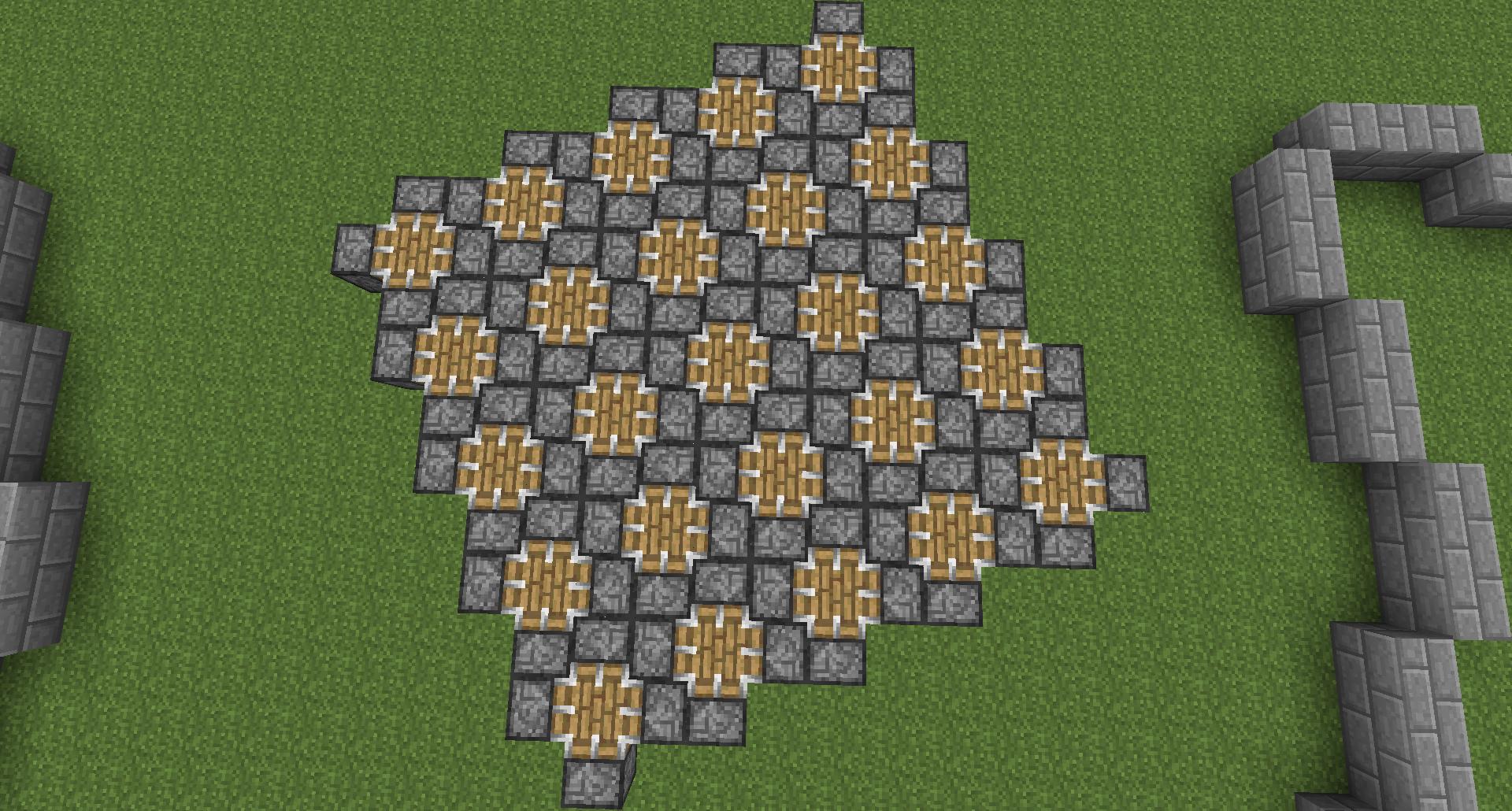 Minecraft pattern sol recherche google sol 1 for Minecraft floor designs