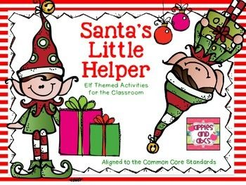 Santa's Little Helper in Kindergarten | Christmas | Santa's ...