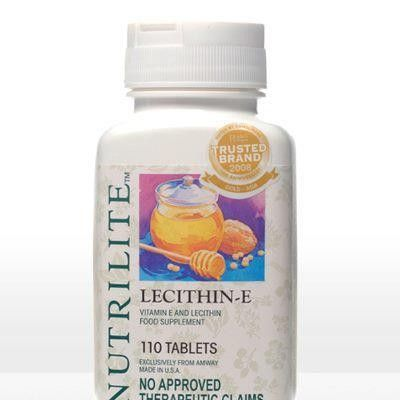 Nutrilite Lecithin E 270 Chewable Tabs For 42 10 A4042