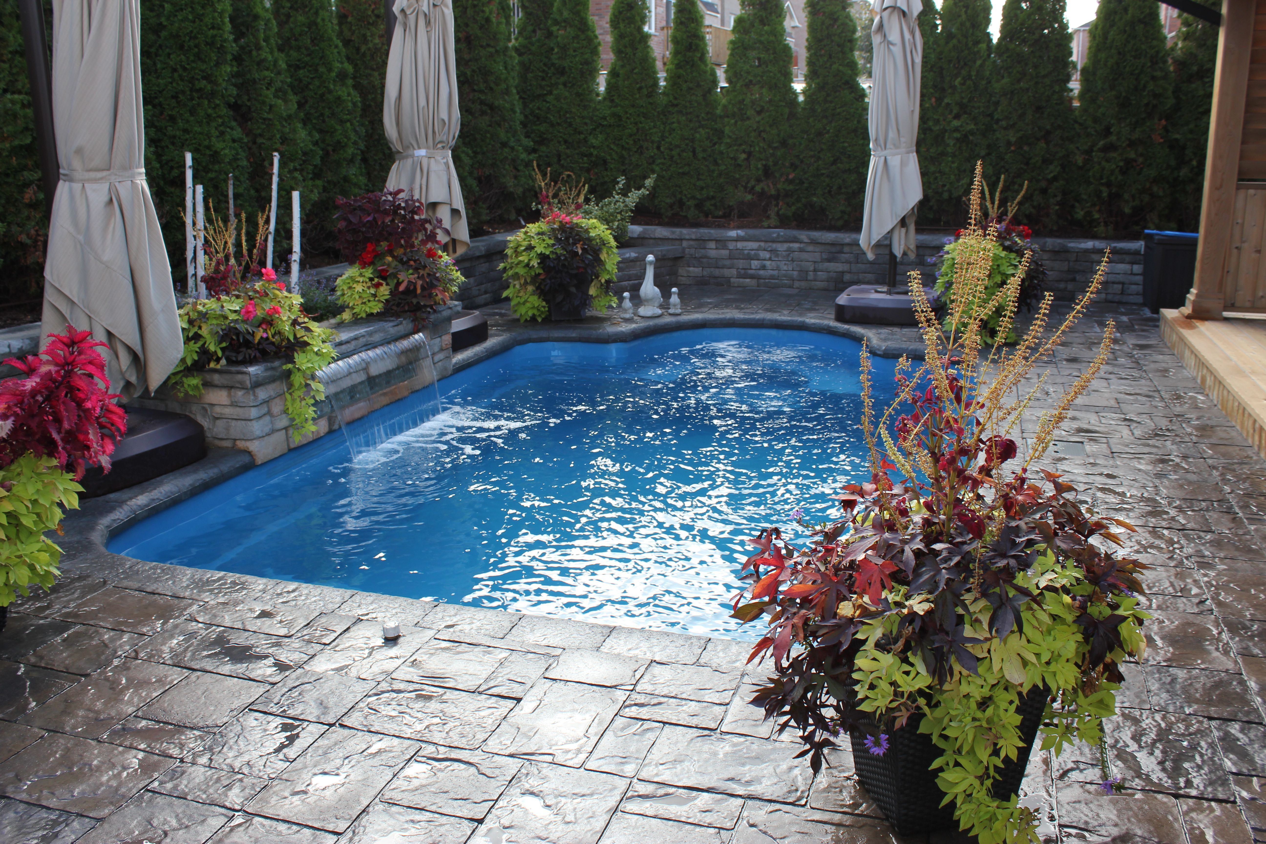 """The Leisure Pools """"Courtyard Roman"""" is 20 feet long and 11 ..."""