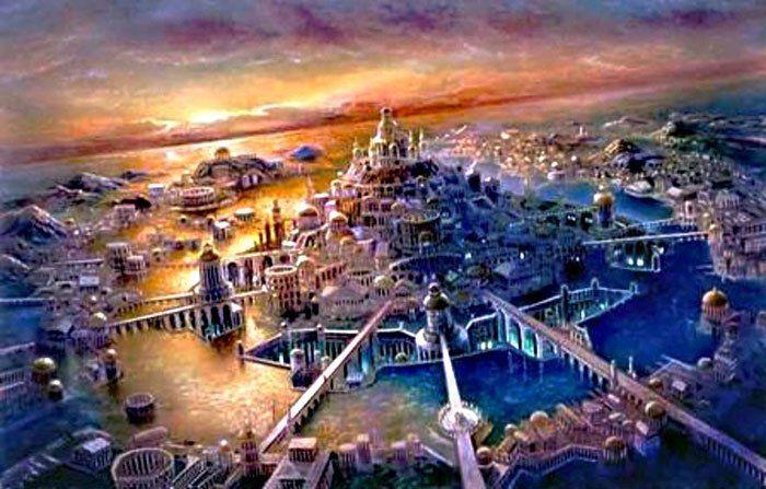 Alice Newatlantis Fantasy Landscape Lost City Of Atlantis Fantasy City