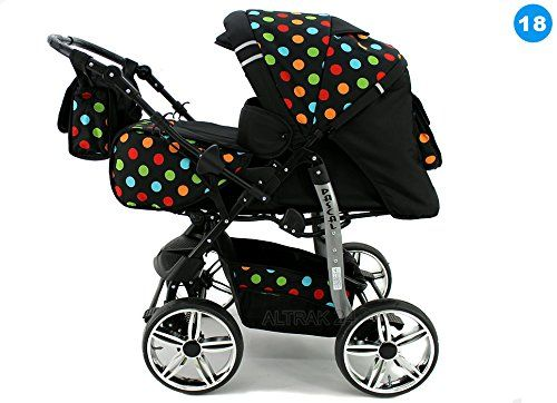 Baby Travel System 3in1 + Car Seat Baby Pram Buggy Pushchair Stroller Karex Pascal (+ Fixed Wheels) (18) - http://www.curiositycreates.co.uk/baby-travel-system-3in1-car-seat-baby-pram-buggy-pushchair-stroller-karex-pascal-fixed-wheels-18/