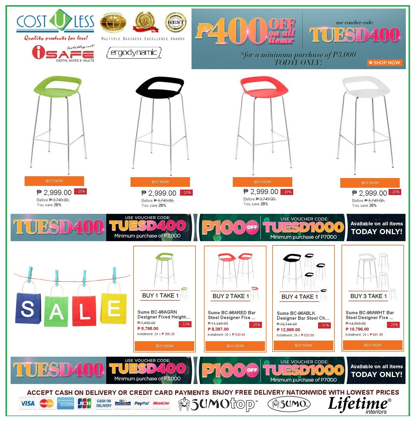 Comfy BAR CHAIRS Lazada Shop Online TUESD PROMO! Save