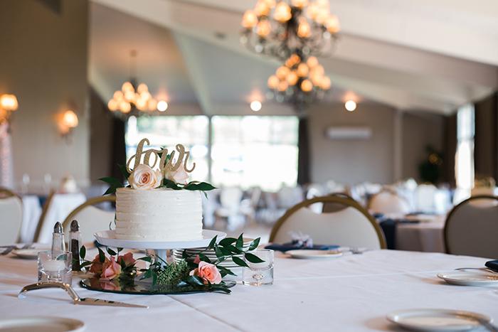 Kelly Chris Chagrin Falls Wedding Individual Wedding Cakes Wedding Cake Table Decorations Wedding Cake Centerpieces