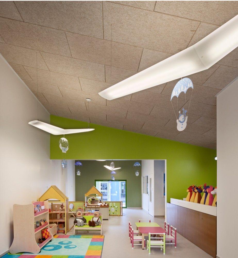 Epinay Nursery School Bp Architectures Mit Bildern Kinder Garten Design Kinder