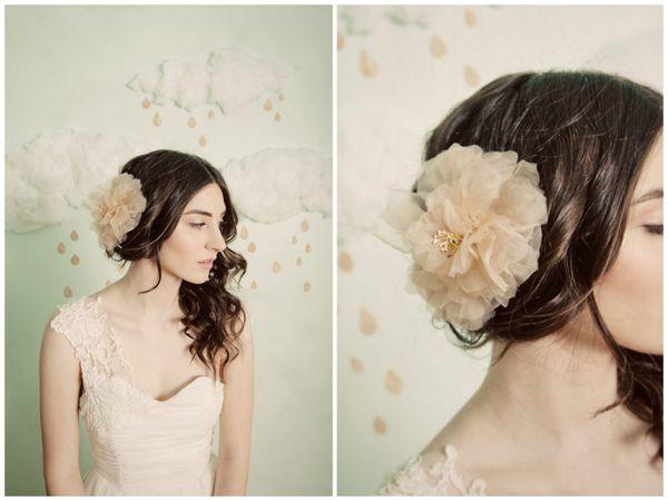 mignonne handmade fabric hair flowers