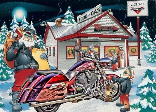 Image result for victory motorcycle santa clause
