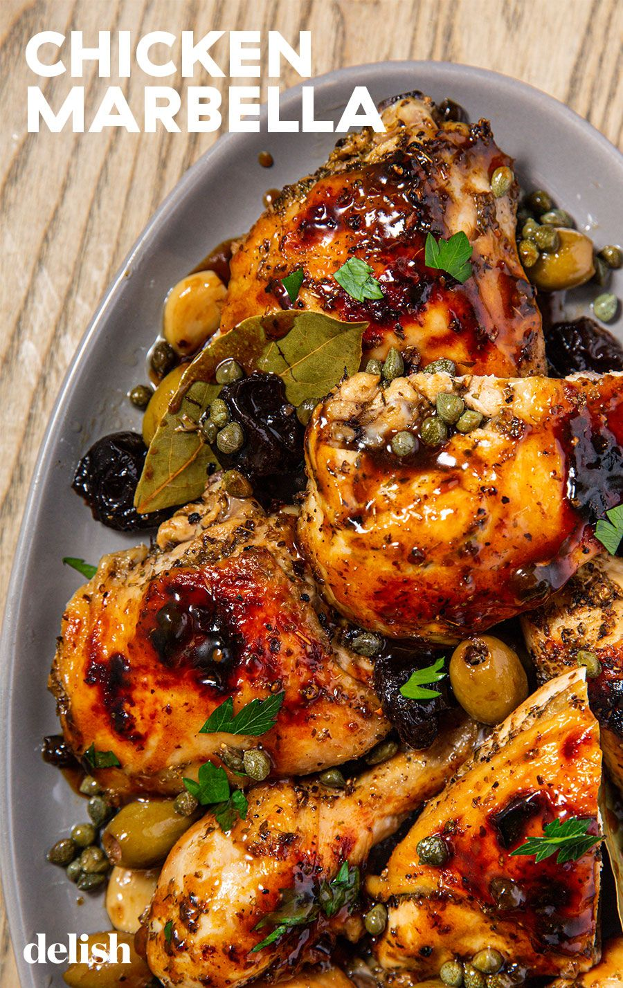 Chicken Marbella Recipe In 2020 Chicken Dinner Easy Chicken
