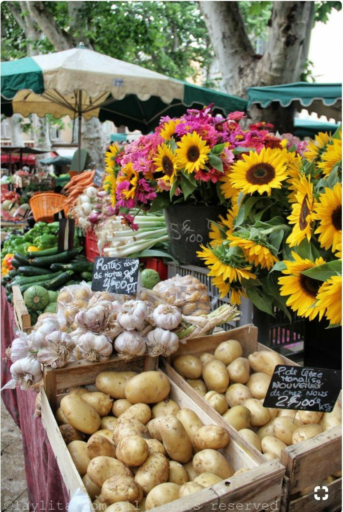 Farmers Market Table Display