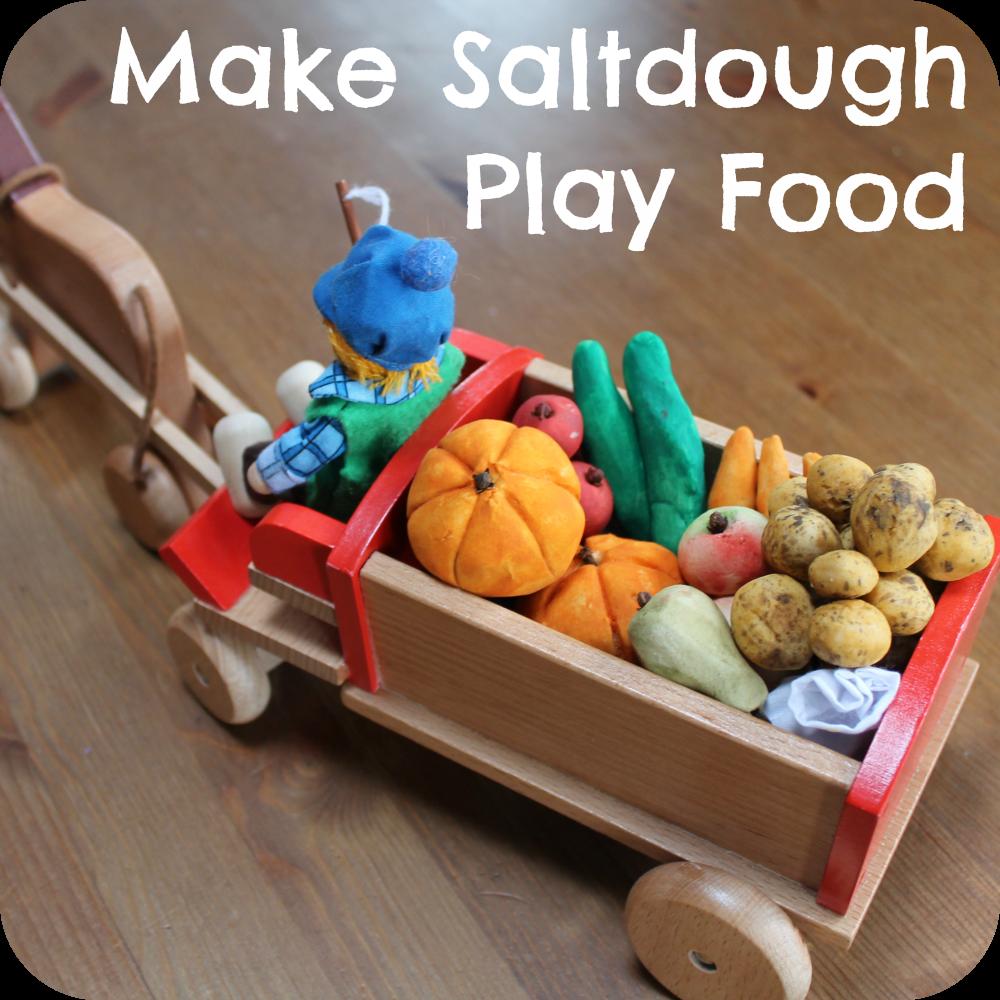 We have had harvest time on our toy farm salt dough is for Salt dough crafts figures