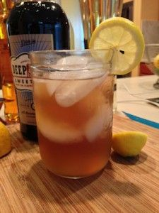 Deep Daly - Deep Eddy Sweet Tea Vodka Cocktail Recipe
