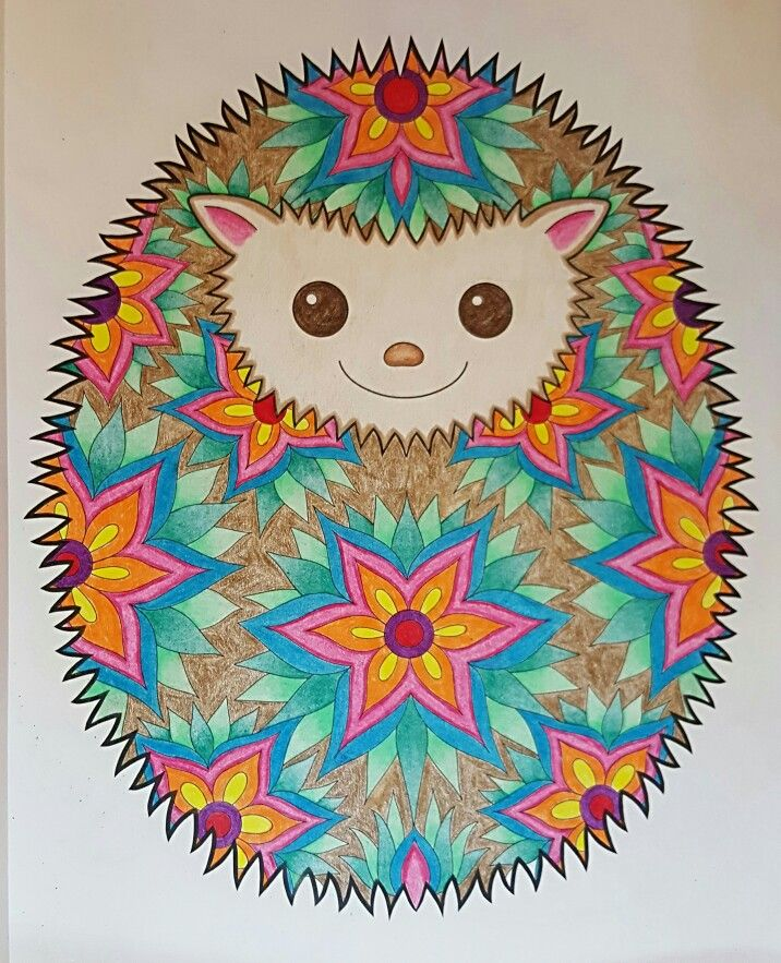 Hedgehog From Thaneeya Mcardle S Don T Worry Be Happy Finished