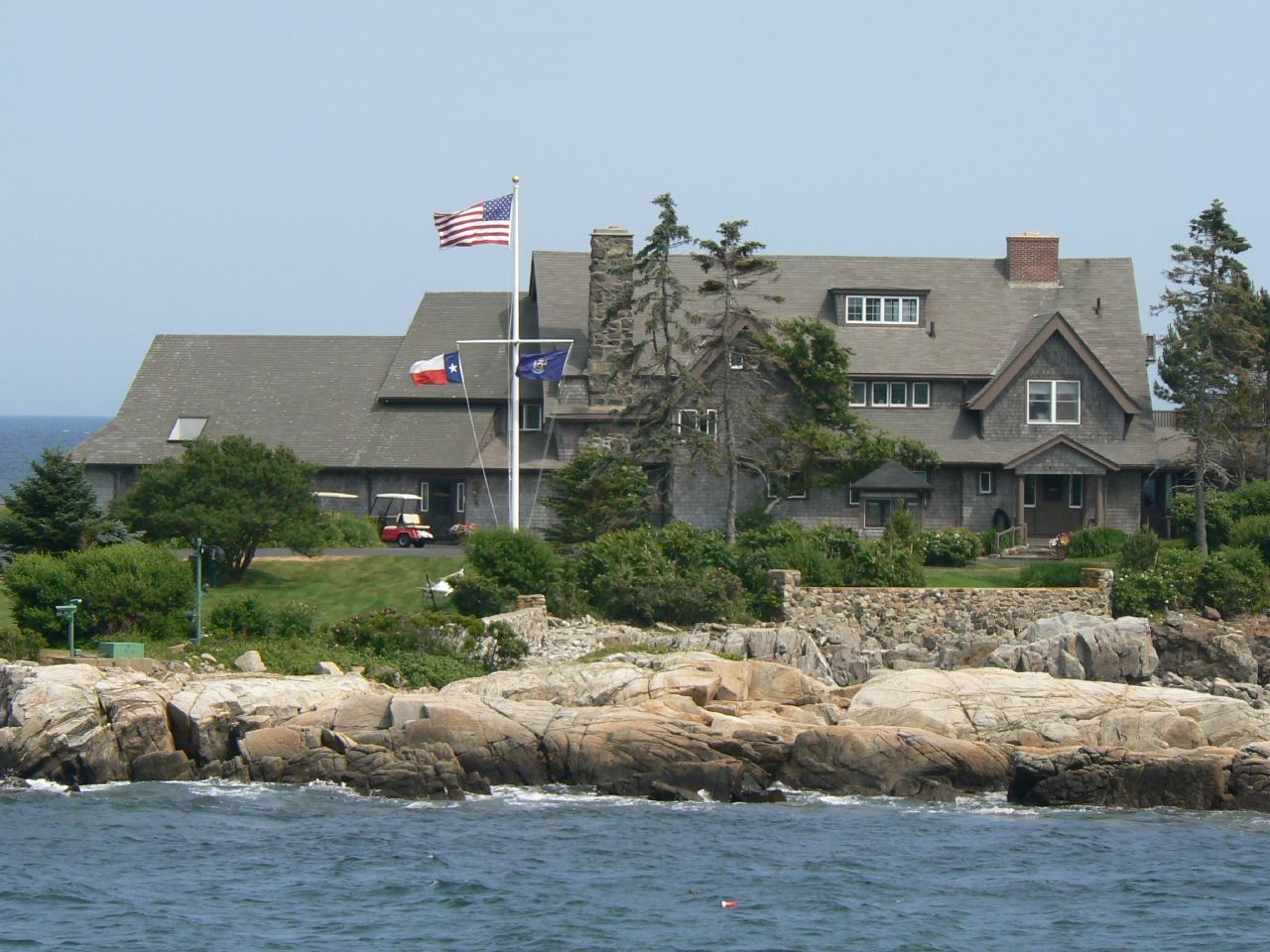 Bush Compound Walker S Point Kennebunkport Maine Kennebunkport Maine New England States Kennebunkport