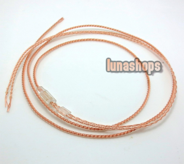37.99$  Buy here - http://aie3d.worlditems.win/all/product.php?id=32241646350 - 1.2m semifinished Handmade Cable For Shure se535 se846 ue900 Fitear earphone OFC 8N  LN003271