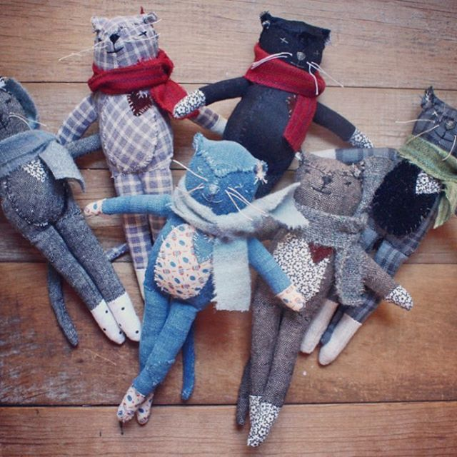 hello mr. socks! this little group is in the shop right now. *Updated - this group is gone but there's a sewing pattern if you'd like to make one yourself.