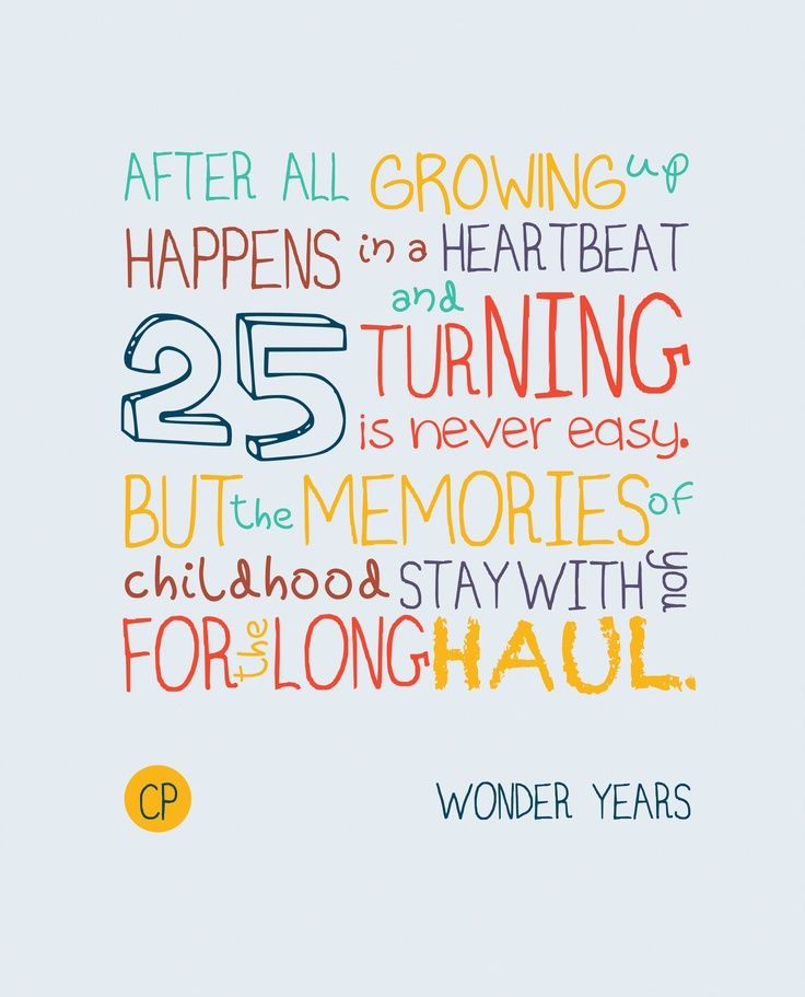 funny quotes about turning 25