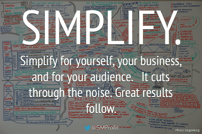 Simplification is power. quotes quote simplify