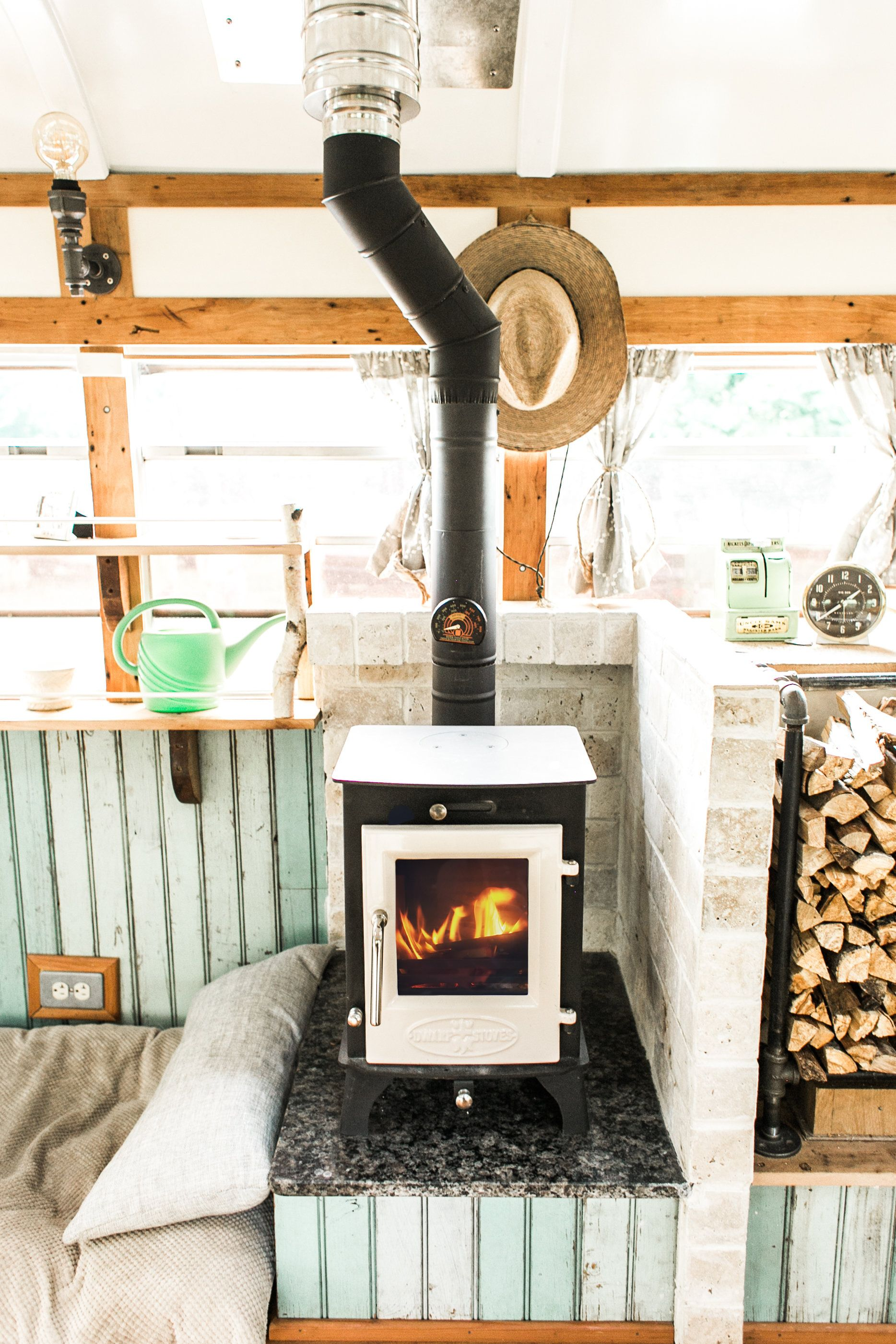 Wood Stove for Tiny Home, RV, Cabin, Bus #tinyhome