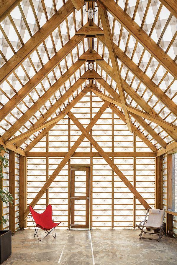 On a belgian estate indra jandas garden shed