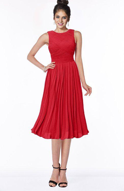 576a61aff697 Gorgeous A-line Sleeveless Chiffon Pick up Bridesmaid Dresses