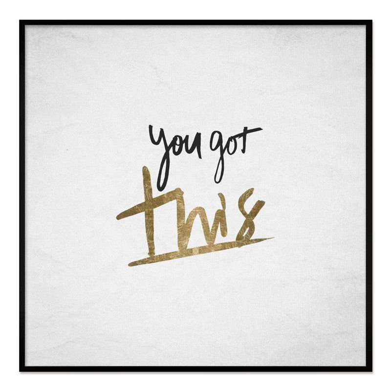Oliver Gal You Got This Framed Whiteboard - 19587_12X12_WHBD_THINBK ...
