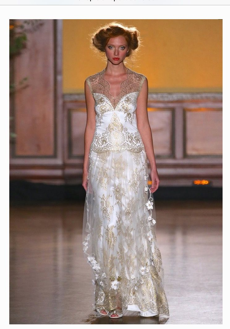 Sold Claire Pettibone Claire Pettibone Wedding Dress Claire Pettibone Bridal Fall Wedding Dresses
