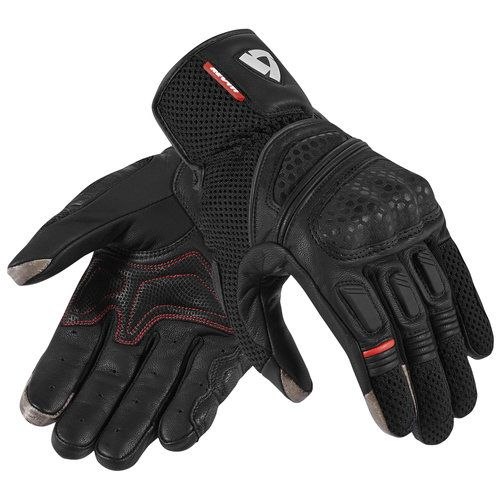 Ducati Summer 2 Vented Mesh Leather Motorcycle Gloves Black by Spidi 98102827
